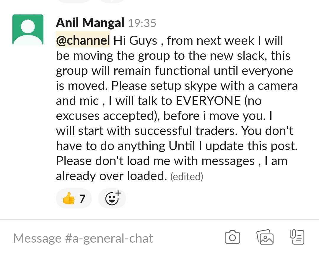 Anil Wants to Skype Vlad