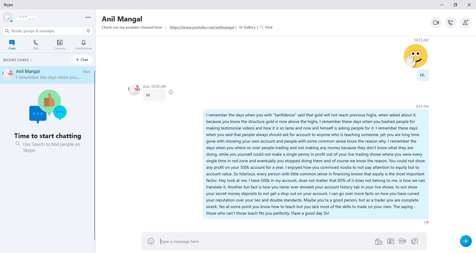 Anil Mangal Scammer Didn't Reply Because He has no Answer to This